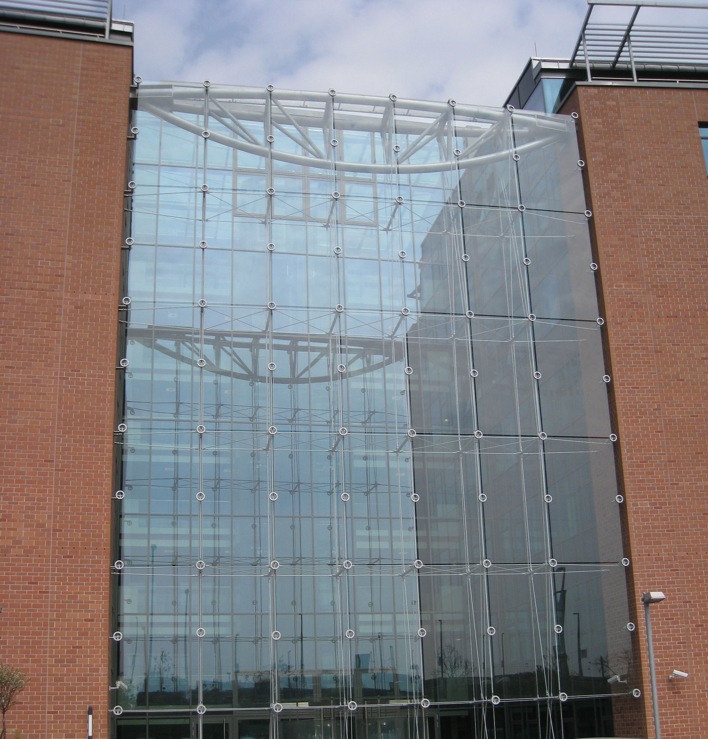 Supporting Glass Facade : Point fixed glass facade