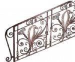 Wronght Iron Stair Railing